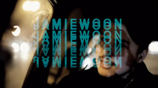 Jamie Woon Mirrorwriting Sizzler