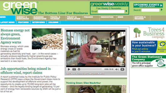 GreenWise Business Website